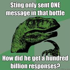 Message in a Bottle Sting