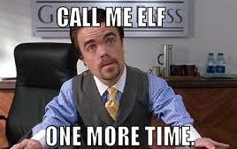 Sorry Call Me Elf