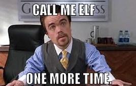 Sorry Call Me Elf